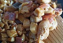 杏鲍菇炒鸡丁的做法