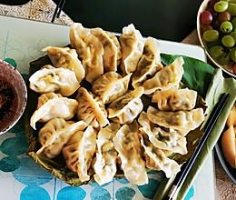 荷叶蒸饺的做法