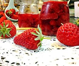 香甜草莓酱的做法