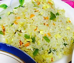 葱香炒米饭 简单味道好的做法