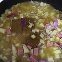 土豆洋葱火腿咖喱饭的做法图解10