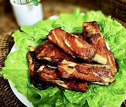 烤猪肋排的做法