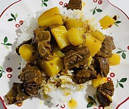 咖喱牛肉盖浇饭的做法