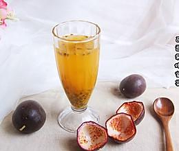 百香果蜂蜜茶的做法