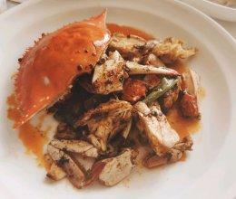 辣炒海蟹的做法