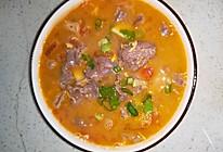 番茄嫩牛肉汤的做法