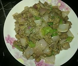 爆炒黑椒牛肉粒的做法