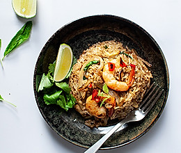 泰式大虾罗勒炒饭---泰国菜系的做法