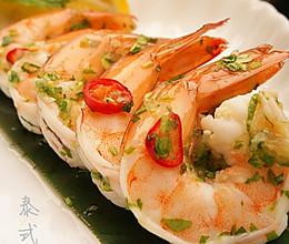 泰式薄荷虾的做法
