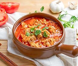 酸汤炖排骨的做法