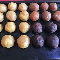 彩虹蛋黄酥的做法图解1