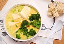 创意鸡蛋豆腐羹-迷迭香的做法