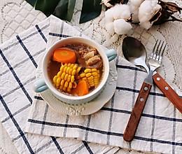 #今天吃什么#排骨玉米胡萝卜汤的做法