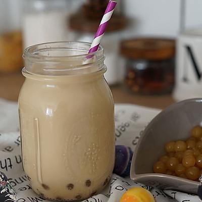 2分钟学会做焦糖珍珠奶茶,完胜奶茶店!