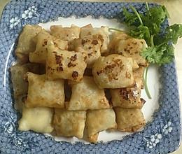 饺子皮香蕉的做法