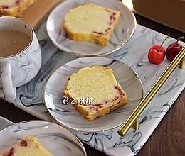 想要热量更低,做起来简单到不行的樱桃蛋糕?的做法