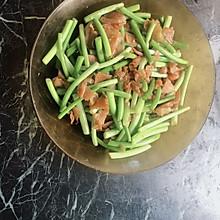 蒜苔火腿片(金华火腿)