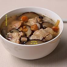 冬进补,瑶柱香菇鸡汤
