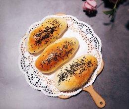 #硬核菜谱制作人#【酸奶】有雀斑的酸奶面包条的做法