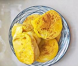 #就是红烧吃不腻!#废物利用比油条还好吃不腻的鸡蛋煎馒头片的做法