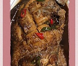 #美食视频挑战赛#干烧平鱼的做法
