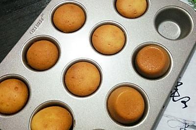 无油小蛋糕#熙悦食品低筋粉#