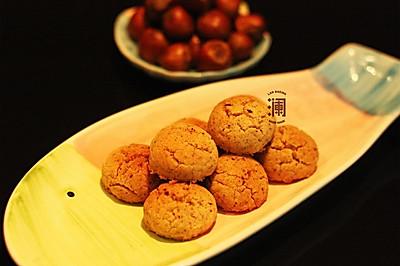 靖王最爱吃的榛子酥(浓香型、花生油黄油版)