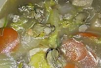牡蛎娃娃汤的做法