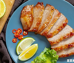 泰式烤猪颈肉|酸甜辣咸的做法