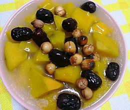 #营养小食光#大枣莲子蒸南瓜的做法