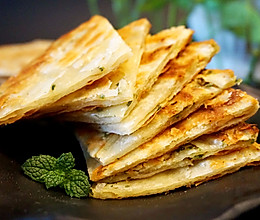 一吃就上瘾的葱油脆酥饼#香雪奥运#的做法