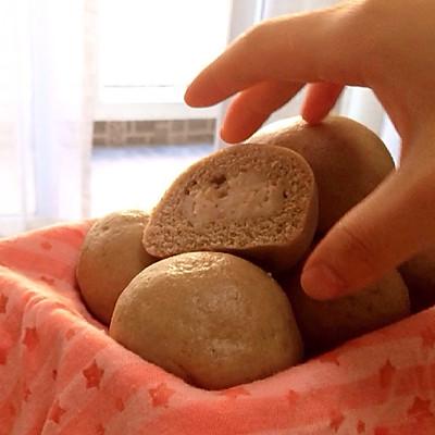 燕麦奶椰荞麦包