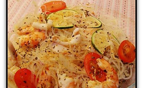 泰式海鲜粉丝沙拉的做法