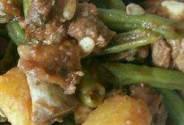 排骨土豆炖豆角的做法