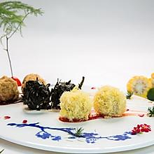 三色三味饭球#福临门创意米厨#