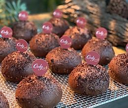 脏小豆—可可巧克力面包(直接法)的做法
