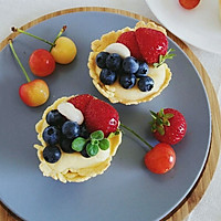 脆皮蓝莓奶酪挞#我动了你的奶酪#的做法图解10