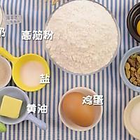 电饭锅版松软面包 宝宝辅食食谱的做法图解1