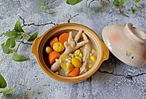 鸡爪粟子汤的做法