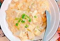 咸蛋黄肉末豆腐的做法