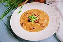 #美食新势力#夏季养胃,事半功倍——香菇鸡肉小米粥的做法