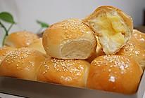 奶黄小餐包------一次发酵即可超级好吃【附奶黄馅儿做法】的做法