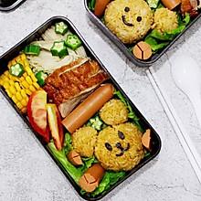 日式小熊午餐便当