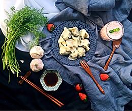 茴香苗猪肉饺子的做法