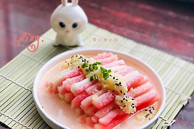 #童年不同样,美食有花样#凉拌西瓜皮