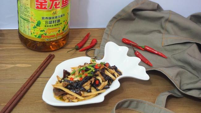 #金龙鱼营养强化维生素A新派菜油#鱼香杏鲍菇的做法