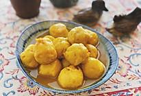 小食-咖喱鱼蛋的做法