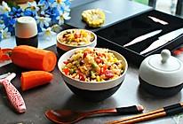 懒人饭:一只番茄饭的做法
