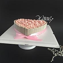 红丝绒心形蛋糕(附快速裱花法)