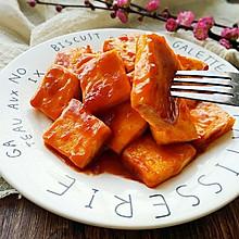 素食记~糖醋脆皮豆腐